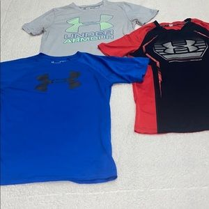 Boys under armor bundle